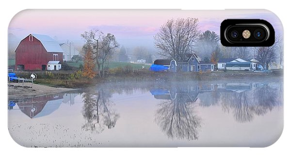 Still Waters On Stoneledge Lake IPhone Case