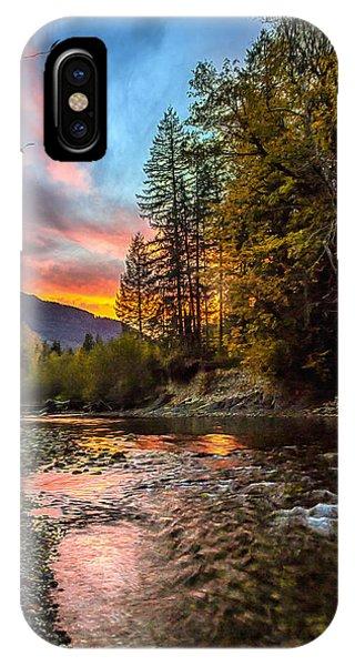 Stillaguamish Sunset IPhone Case