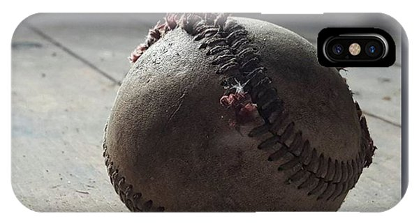 Sports iPhone Case - Baseball Still Life by Andrew Pacheco
