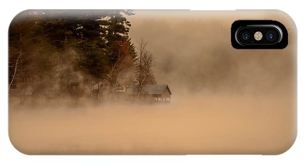 Stillness Of Autumn IPhone Case