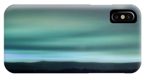 Teal iPhone Case - Stillness by Priska Wettstein