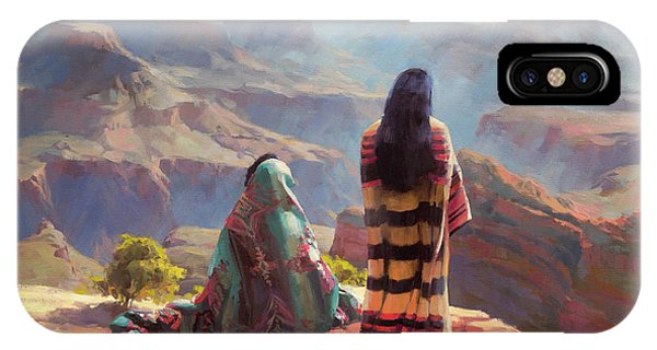 Grand Canyon iPhone Case - Stillness by Steve Henderson