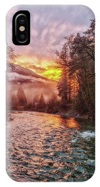 Stilly Sunset IPhone Case