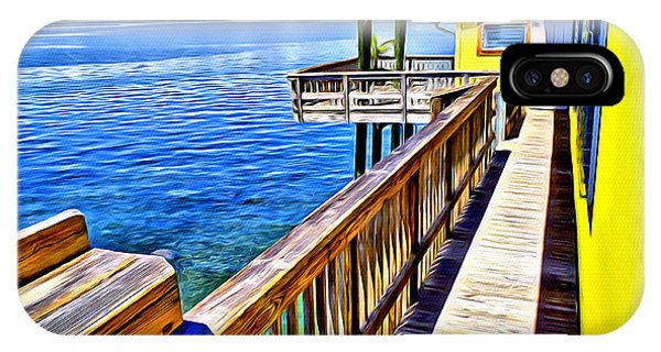 Reef Diving iPhone Case - Stiltsville House by Anthony C Chen