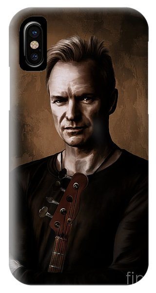 Sting IPhone Case