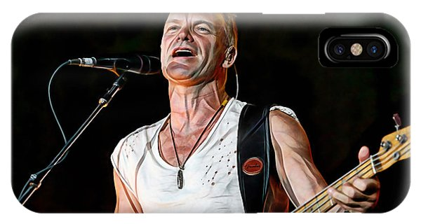 Sting Collection IPhone Case