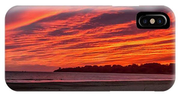iPhone Case - Stinson Beach Sunset by Bill Gallagher