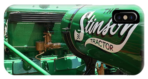 Stinson Steam Tractor IPhone Case