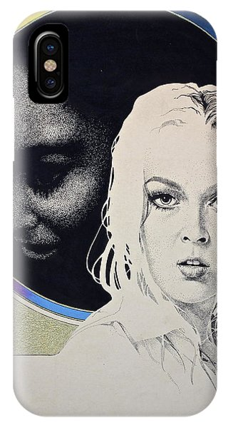 Stipple 1 --over The Hill IPhone Case