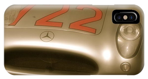 Stirling Moss 1955 Mille Miglia Winning 722 Mercedes IPhone Case