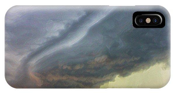 Stirred Up Sunset IPhone Case