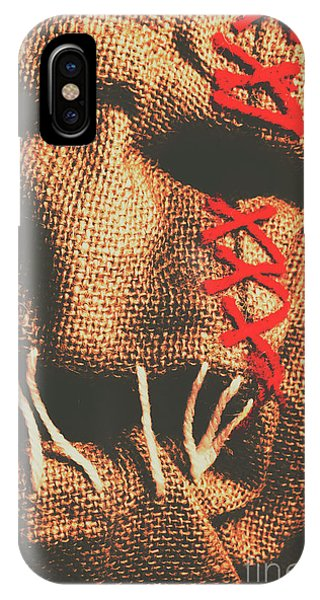 Beast iPhone Case - Stitched Up Madness by Jorgo Photography - Wall Art Gallery