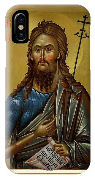 St.john The Baptist Phone Case by Daniel Neculae