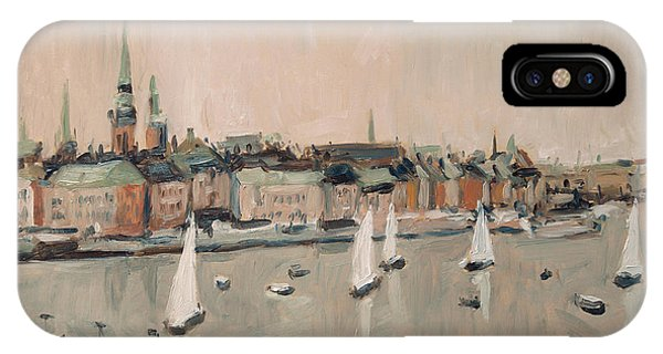 Stockholm Regatta IPhone Case