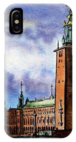 Stockholm Sweden IPhone Case