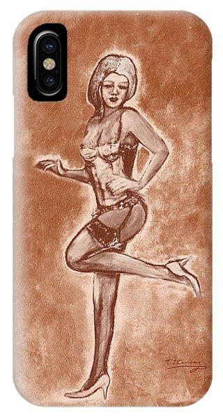 Stockings And Stilettos  IPhone Case