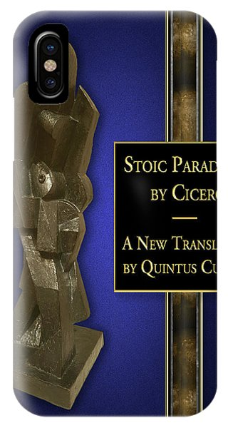 iPhone Case - Stoic Paradoxes by Quintus Curtius