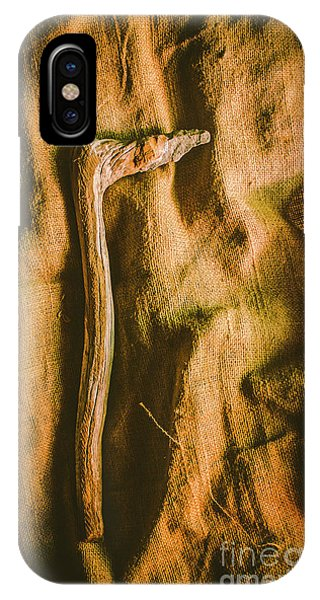 Stone Wall iPhone Case - Stone Age Tools by Jorgo Photography - Wall Art Gallery