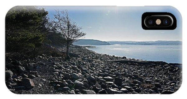 Stone Beach IPhone Case