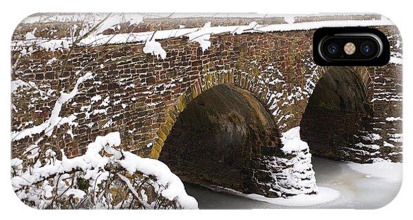 Stone Bridge At Bullrun Virginia IPhone Case