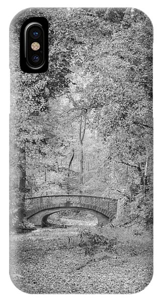 Stone Bridge In The Woods IPhone Case