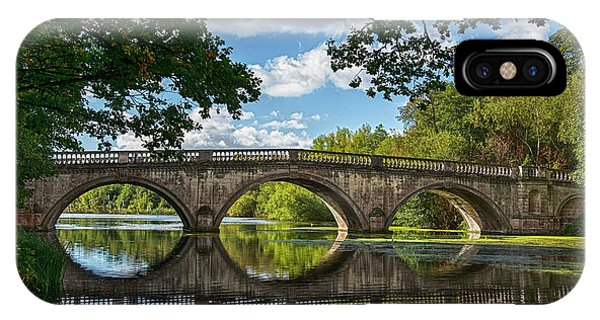 Stone Bridge Over The River 590  IPhone Case