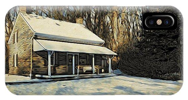 Stony Brook Meeting House IPhone Case