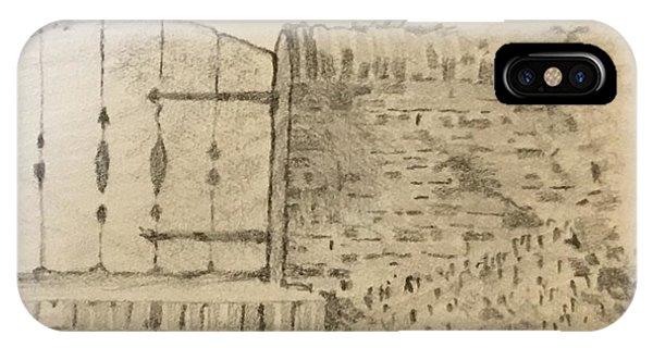 Stone Gate IPhone Case