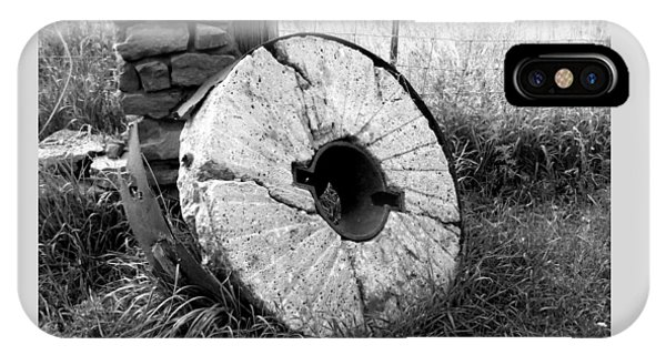 The Old Stone Grinding Wheel IPhone Case