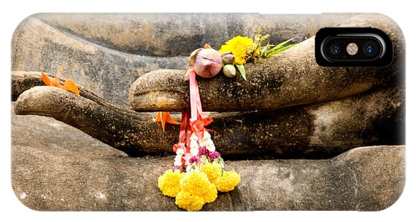 Stone Hand Of Buddha IPhone Case