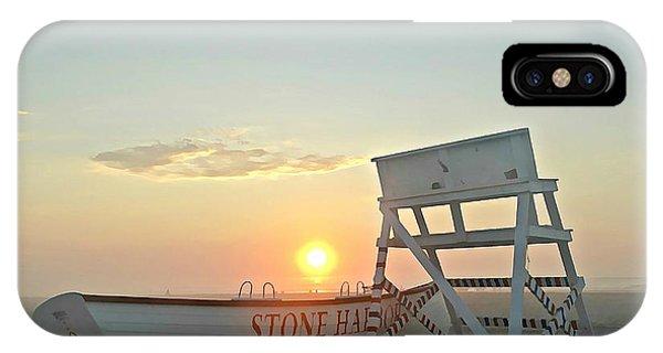 Stone Harbor Sunrise IPhone Case