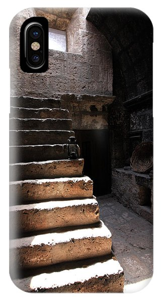 Stone Stairs At Santa Catalina Monastery IPhone Case