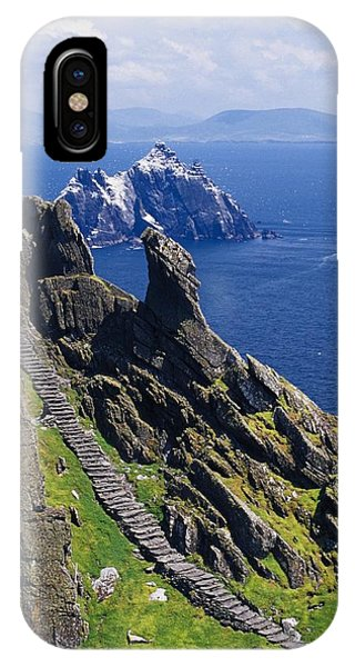 Stone Stairway, Skellig Michael IPhone Case