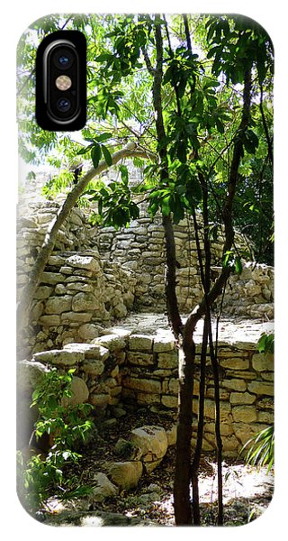 IPhone Case featuring the photograph Stone Steps In The Jungle by Francesca Mackenney