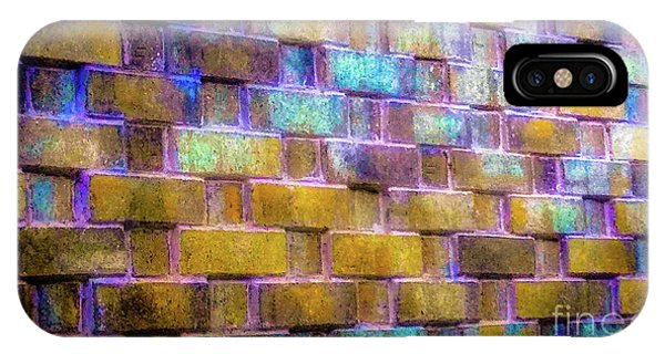 Brick Wall In Abstract 499 IPhone Case