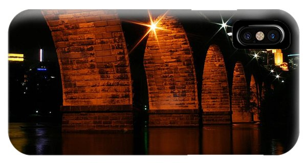 Stonearch Bridge - Minneapolis IPhone Case