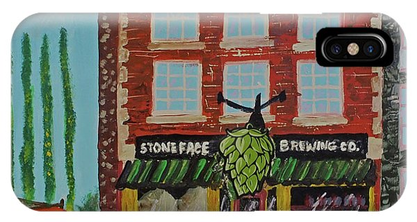 Stoneface Brewing Co. IPhone Case