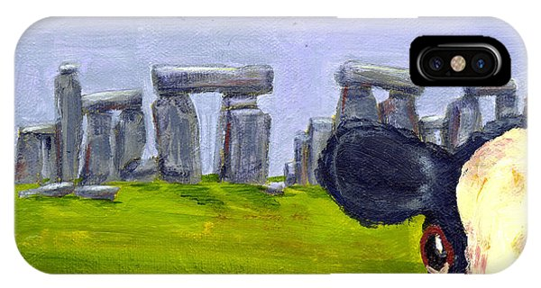 Stonehenge Cow IPhone Case