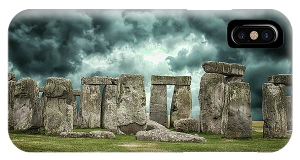 Stonehenge Storms IPhone Case