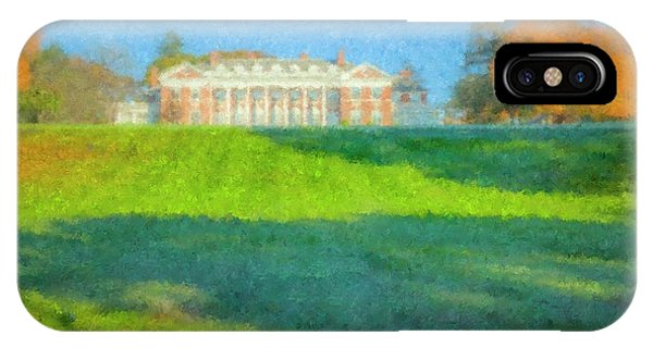 Stonehill College In October IPhone Case
