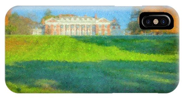 Stonehill College In October IPhone Case