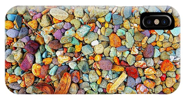 Stones And Barks On Beach IPhone Case