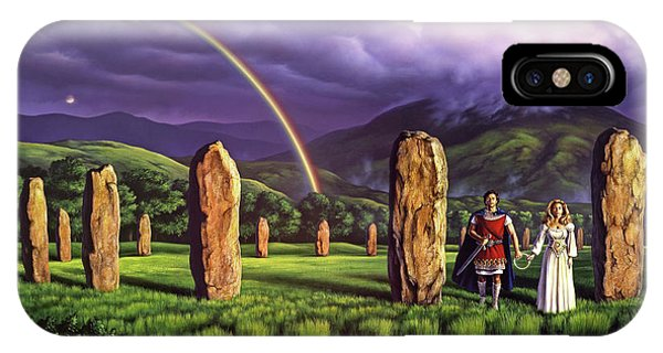 England iPhone Case - Stones Of Years by Jerry LoFaro