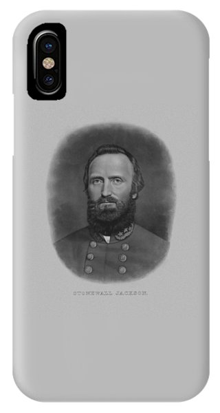 Again iPhone Case - Stonewall Jackson by War Is Hell Store
