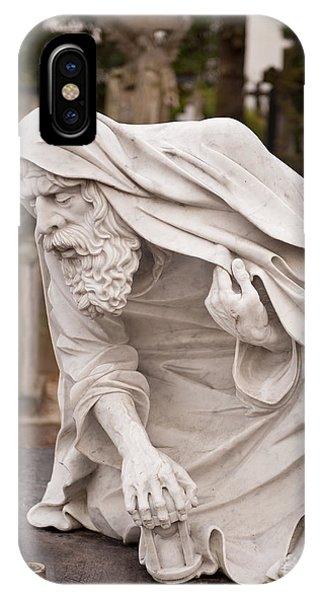 Stonework Of Chronos Sculpture IPhone Case