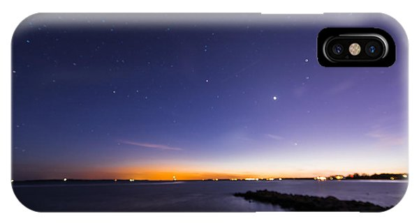 Stonington Skies IPhone Case