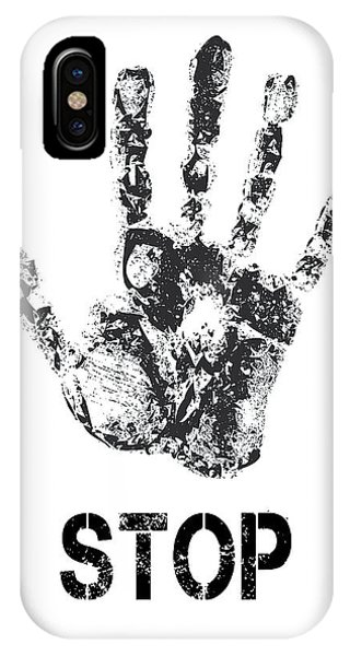 Repulsive iPhone Case - Stop ...... What You Are Doing by Daniel Hagerman