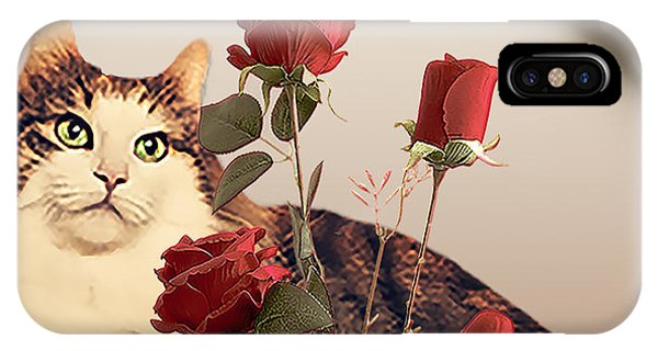 iPhone Case - Stop And Smell The Roses by Cynthia Leaphart