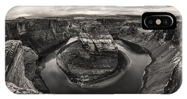 Storm At Horseshoe Bend IPhone Case