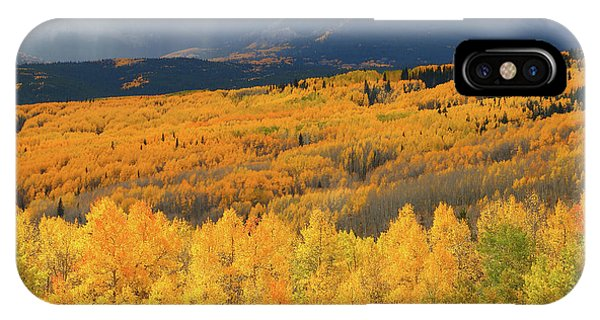 Storm At Ohio Pass During Autumn IPhone Case